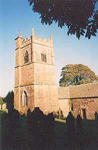 Blisland Parish Church.
