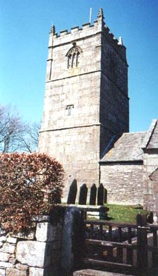 St Breward parish church.