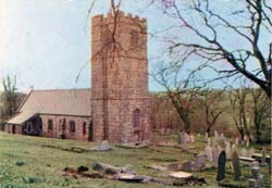 St Clether parish church.