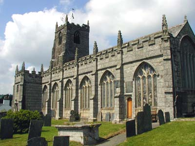 St Anietus - St Neot Parish Church